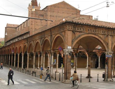 Piazzetta dei servi di maria in bologna italy for Hotel dei commercianti bologna